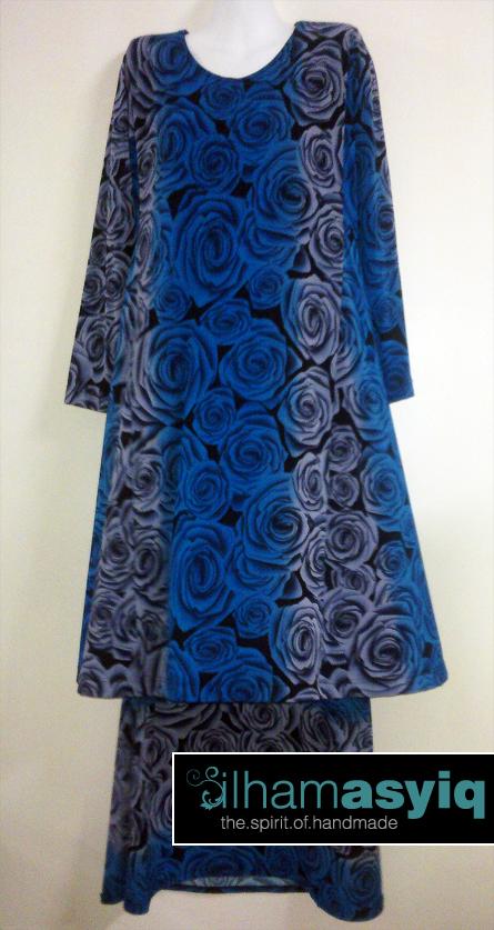Printed kain dan baju + tudung RM180